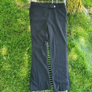 CALVIN KLEIN Dress Pants Wide Leg Black Size 8